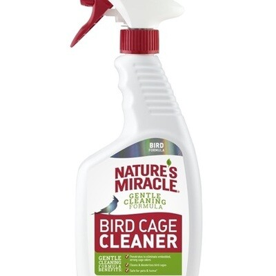 NATURE'S MIRACLE BIRD CAGE CLEANER 709ML