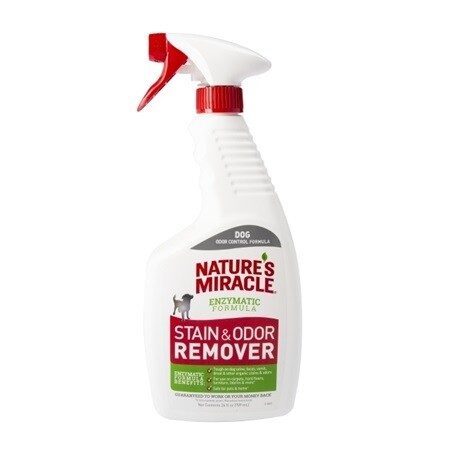 NATURE'S MIRACLE STAIN & ODOUR REMOVER 3.78L