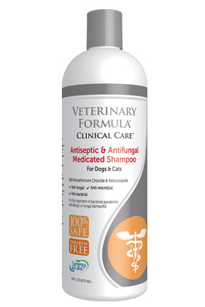 VETERINARY FORMULA ANTISEPTIC & ANTIFUNGAL SHAMPOO 473ml