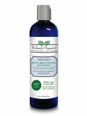 RICHARD'S ORGANICS ANTI-BACTERIAL SHAMPOO 12OZ