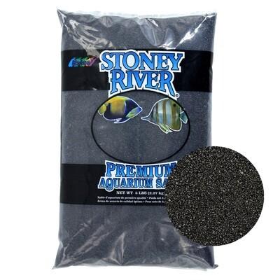 Estes Gravel  Aquatic Sand Black 5lb