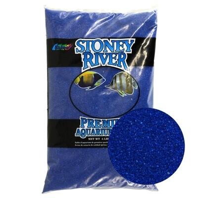 Estes Gravel  Aquatic Sand Blue 5lb