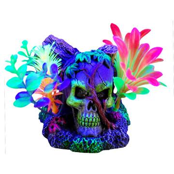 Marina I-Glo Skull & Vines