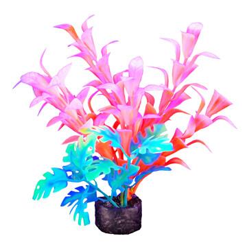 """Marina I-Glo Plant 5.5"""" Orange/White Bacopa"""