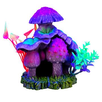 """Marina I-Glo Mushroom House 6"""""""