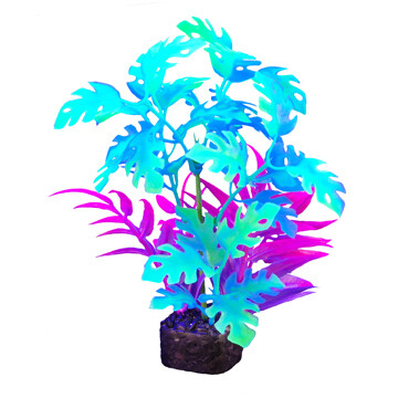 """Marina I-Glo Plant 7.5"""" Blue"""