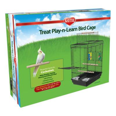 Kaytee Cockatiel  Treat Play-n-Learn Bird Cage