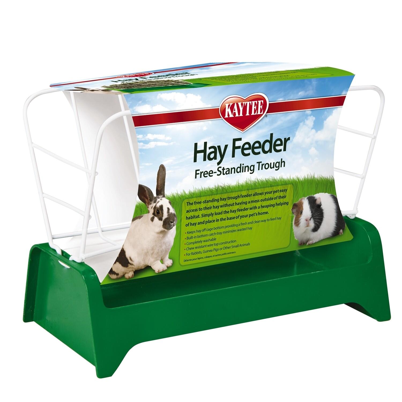 Kaytee Free Standing Trough Hay Feeder