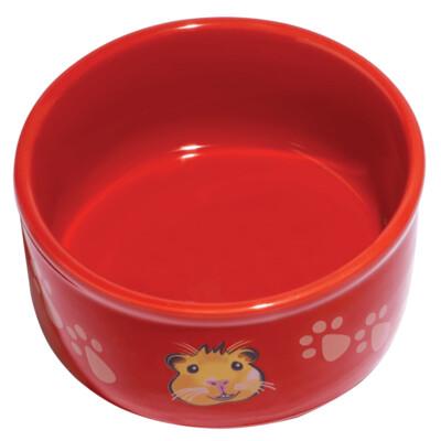 Kaytee Paw-Print PetWare Guinea Pig Dish 4.25