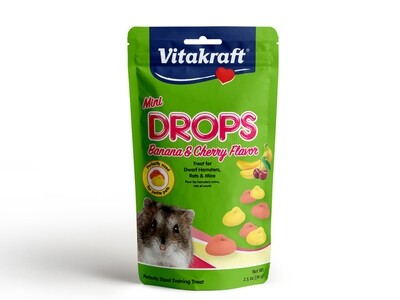 Vitakraft Drops Banana & Cherry 70g