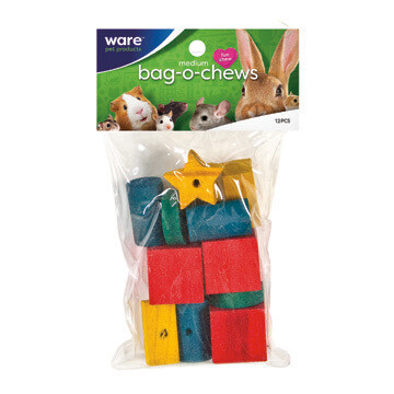 Ware Bag o Chews 12 piece Medium