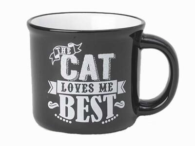 Petrageous Mug The Cat Loves Me