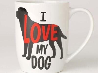 Petrageous Mug I Love my Dog