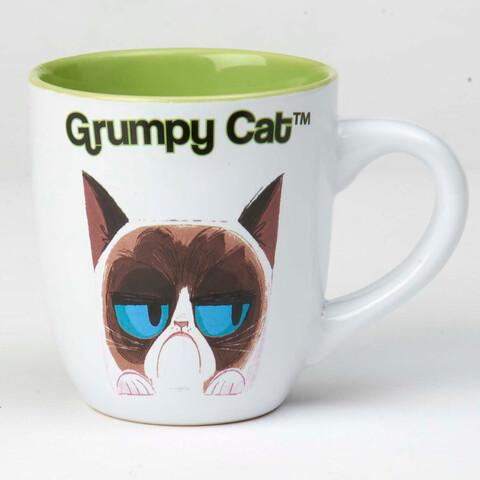 Petrageous Mug Grumpy Cat White