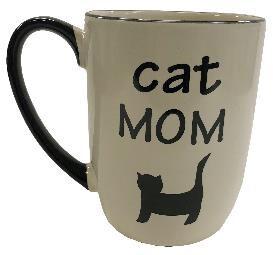 Petrageous Mug Cat Mom Neutral