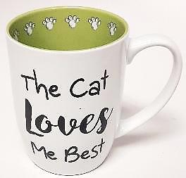 Petrageous Mug Cat Loves Me Best
