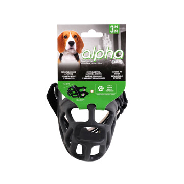 ALPHA BY ZEUS DOG MUZZLE - M