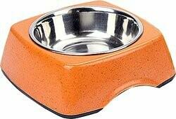 BooBowl Orange Square Bowl Large
