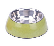 BooBowl Green Round Bowl Small