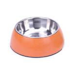 BooBowl Orange Round Bowl Large
