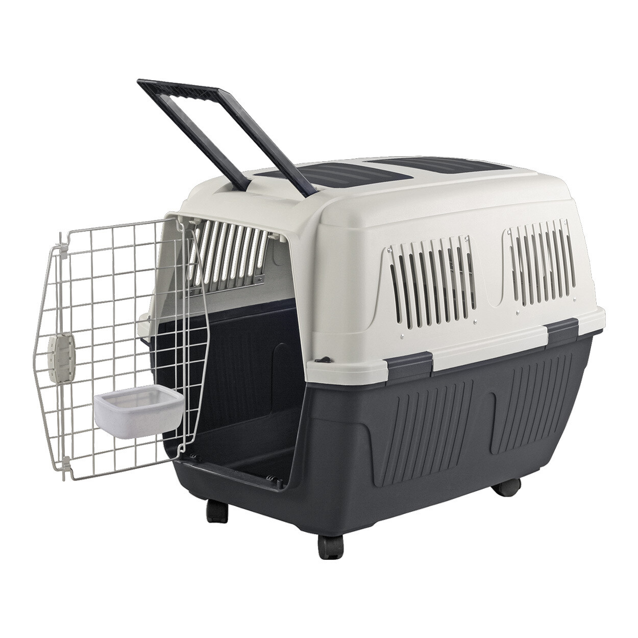 ANIMAL TREASURES DELUXE DOG KENNEL - LARGE