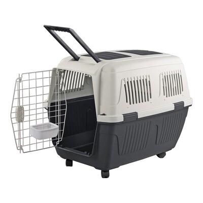 ANIMAL TREASURES DELUXE DOG KENNEL - XL