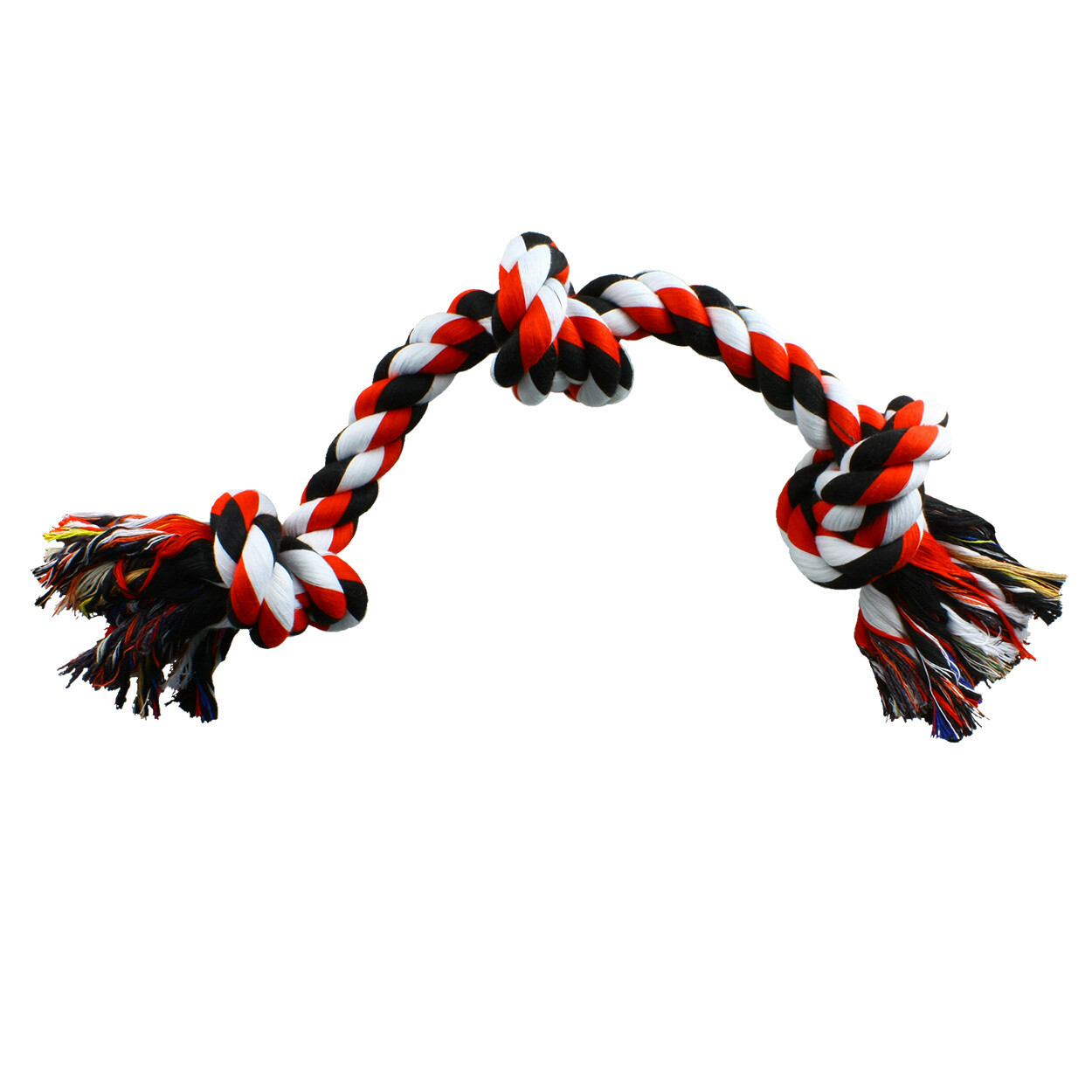 "Animal Treasures 20"" 3 Knot Rope Toy"