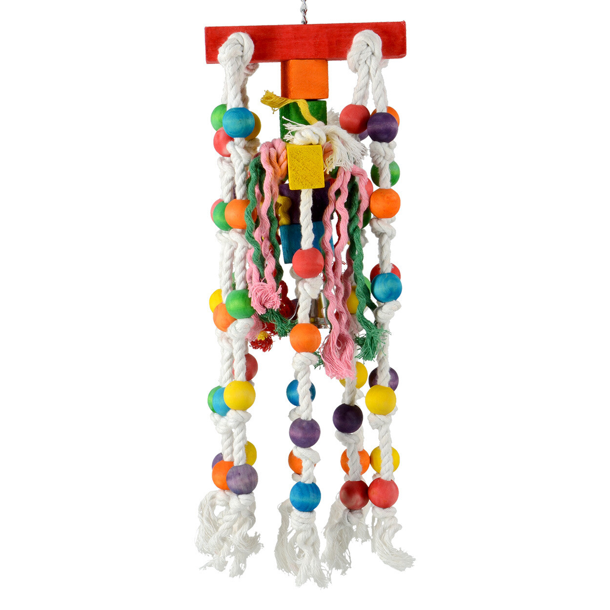 Animal Treasures Birdie Jingle Rope Carousel