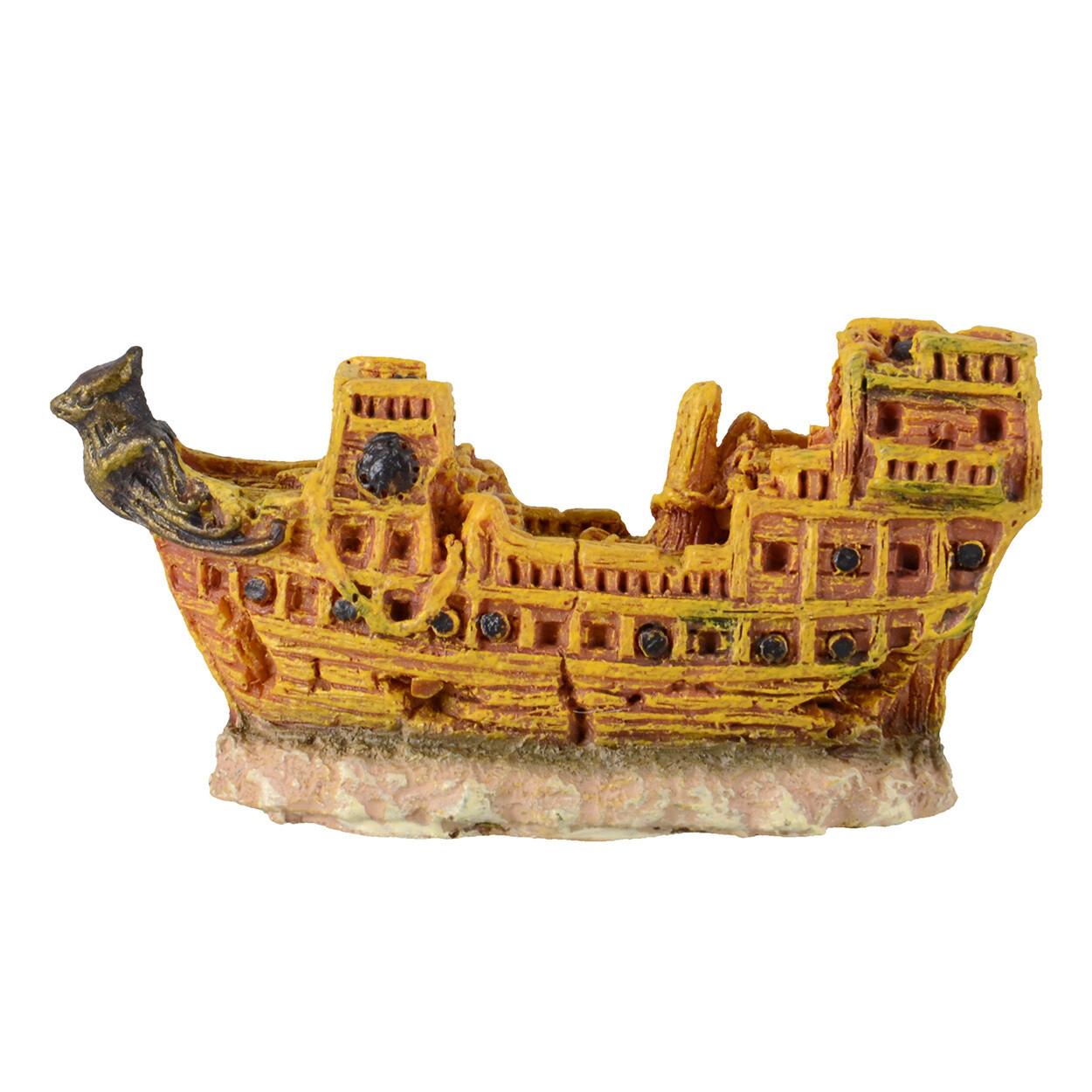 Underwater Treasures Mini Ship