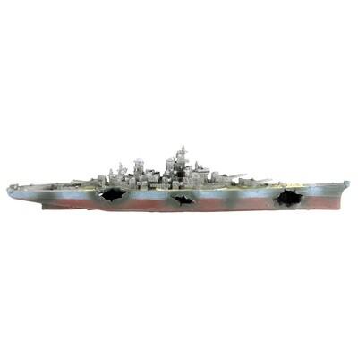 Underwater Treasures Warship