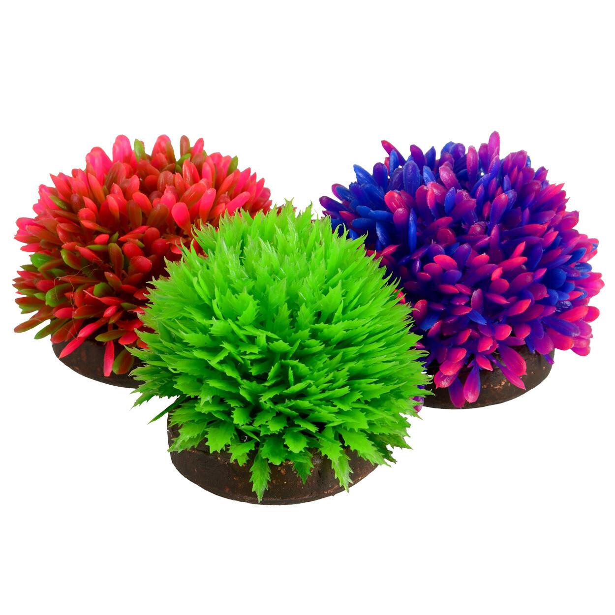 Underwater Treasures 4Ground Plant Balls 3Pk