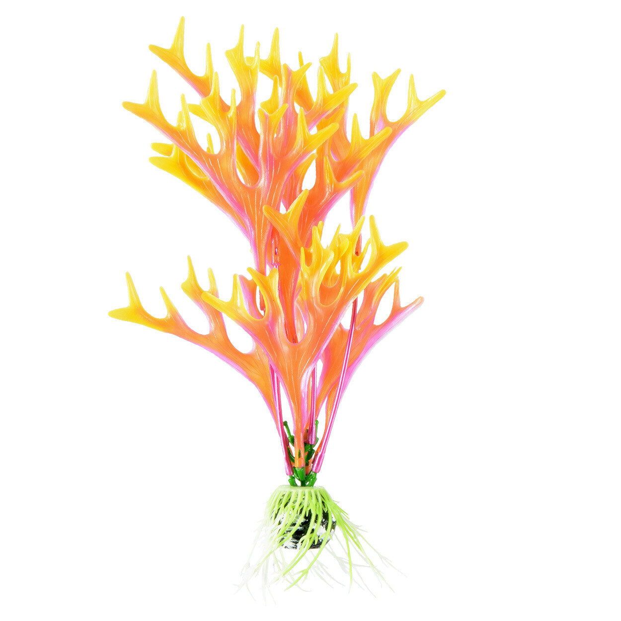 "Underwater Treasures 8"" - Orange Fire Fern"