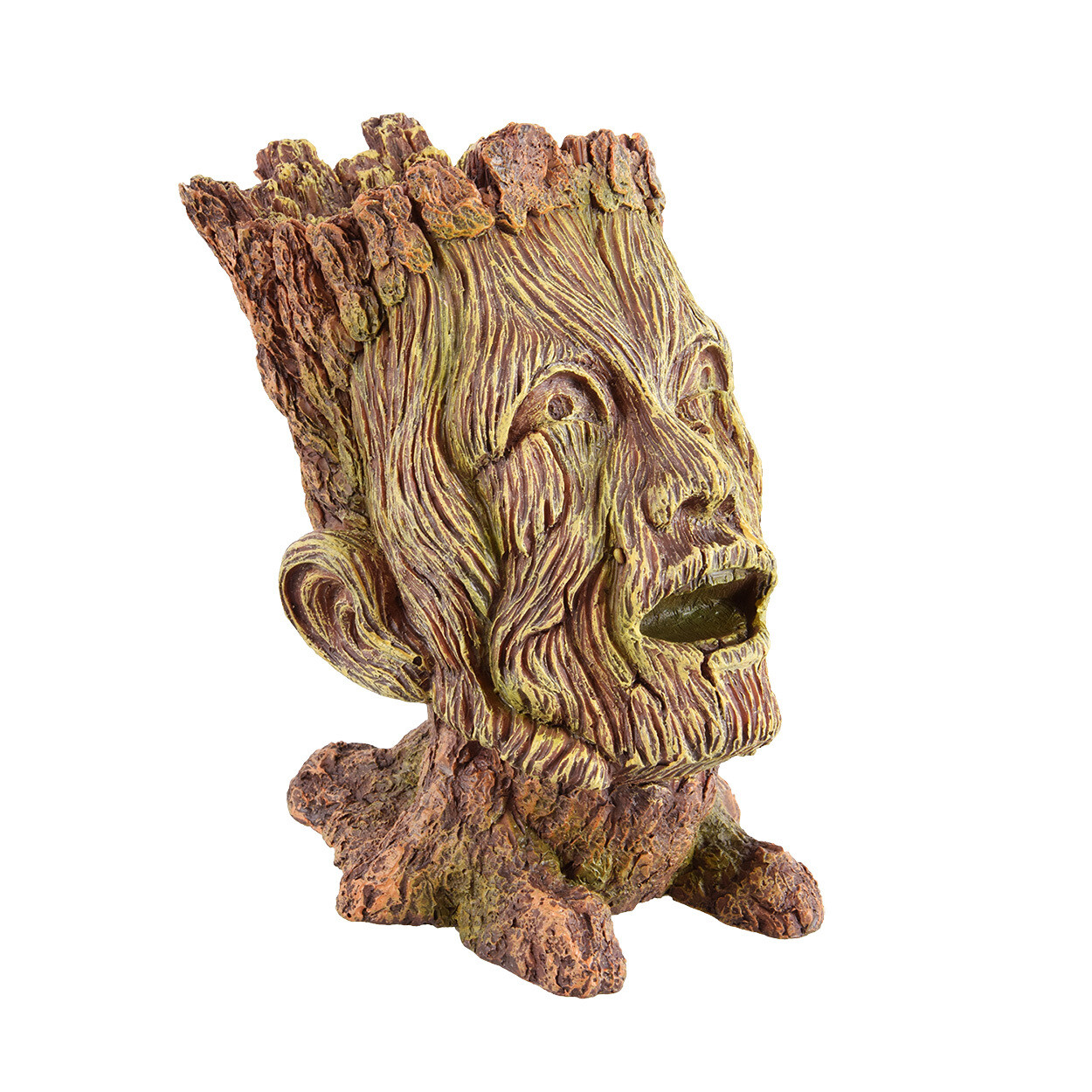Underwater Treasures Wooden Warlock