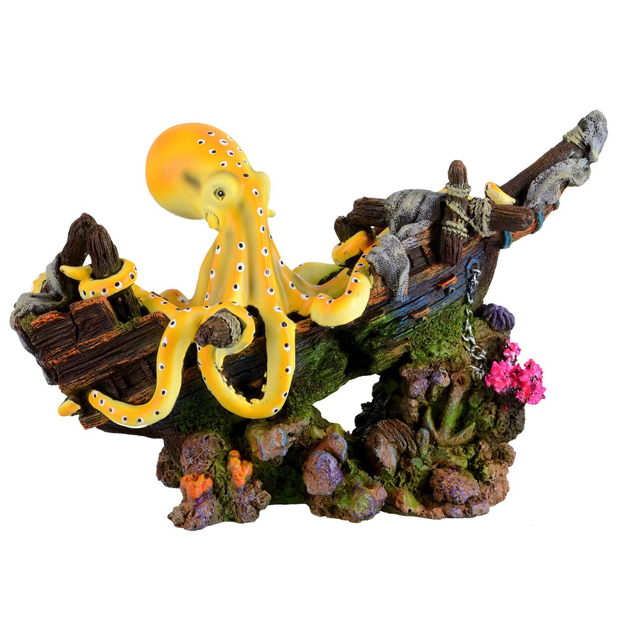 Underwater Treasures Octopus Wreakage