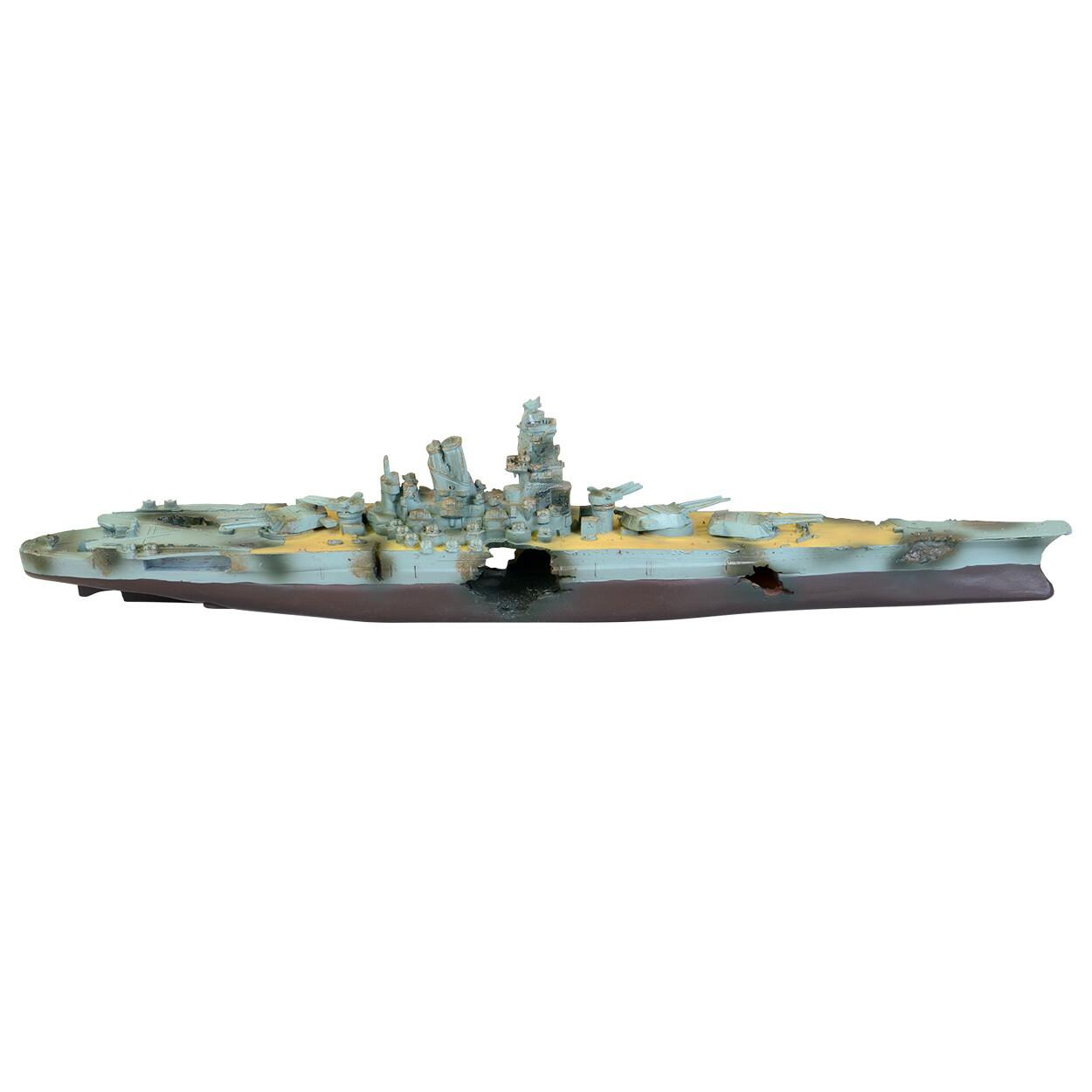 Underwater Treasures Battleship 2 pc