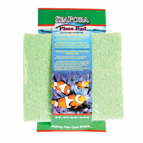 Seapora Phos Filter Pad 18 x 10 (Green)