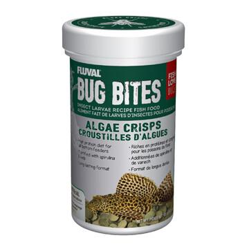 FLUVAL BUG BITES ALGAE CRISPS - 100g