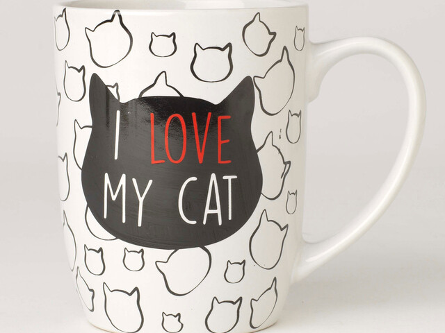 Petrageous Mug I Love My Cat