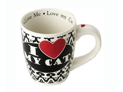 Petrageous Mug I Love My Cat