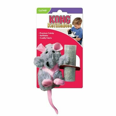 KONG CAT - REFILLABLE CATNIP RAT