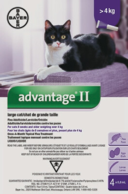 ADVANTAGE II FOR CATS OVER 4KG