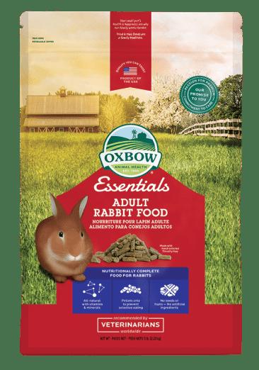 OXBOW ESSENTIALS ADULT RABBIT FOOD 5LB