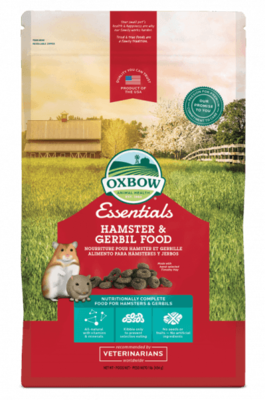 OXBOW ESSENTIALS HAMSTER & GERBIL 1LB