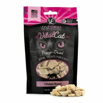 VitalCat Chicken Breast Cat Treats 1.0oz
