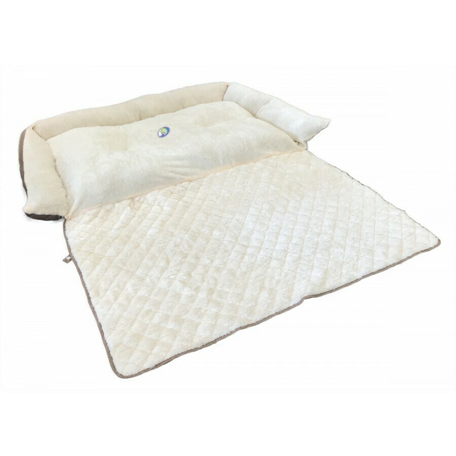 """Cumfy Diamond Side Bed With Roll Out Mat - 40"""" x 27"""""""