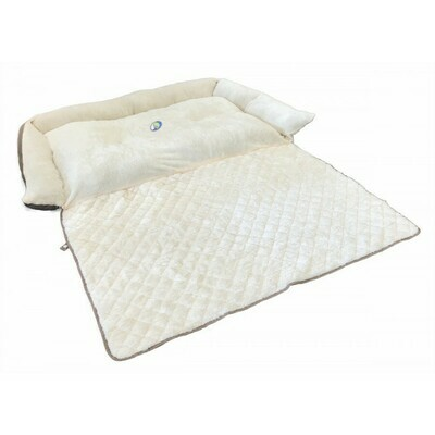 "Cumfy Diamond Side Bed With Roll Out Mat - 40"" x 27"""