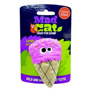 Mad Cat Strawpurry Ice Cream