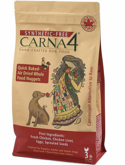 Carna4 Chicken Dog Food 2.72kg