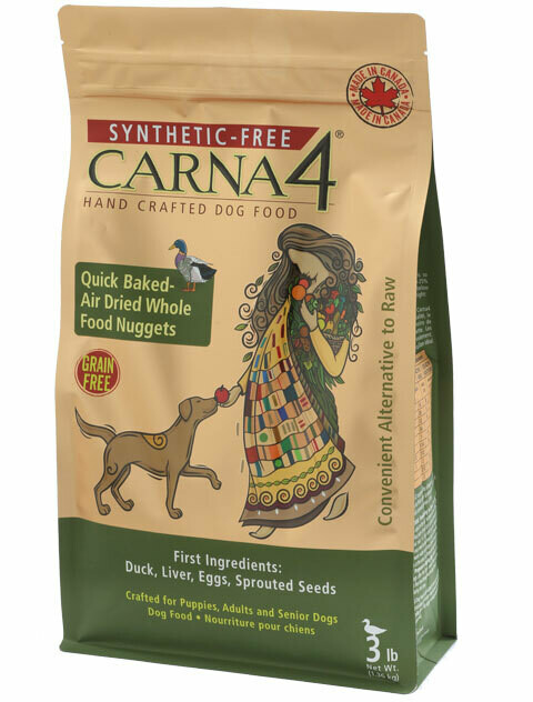 Carna4 Grain Free Duck Dog Food 1.36kg