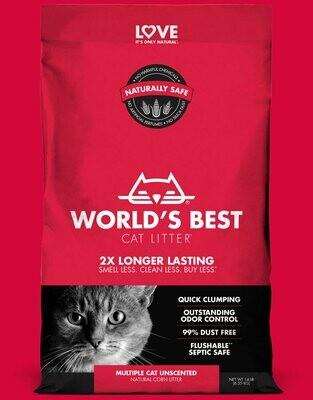 WORLD'S BEST CAT LITTER MULTICAT 28LB